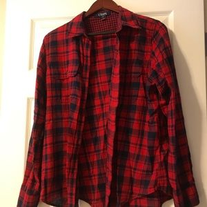 Chaps women's flannel